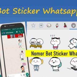 Nomor Bot Sticker Whatsapp